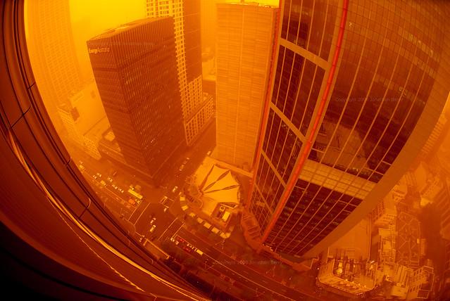 Dust Storm Sydney - George Street