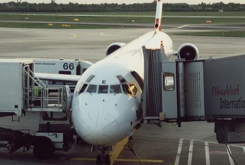 Austrian Airlines MD-83 OE-LME Düsseldorf