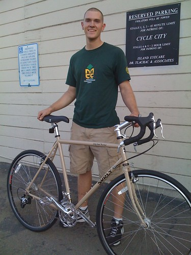 Mr. A and his BRAND NEW Surly Long Haul Trucker