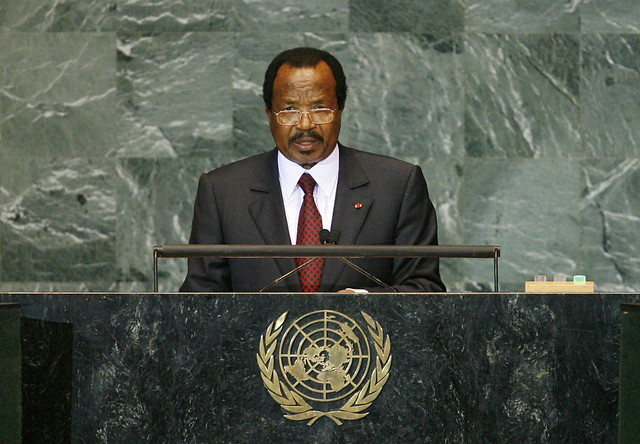 President of Cameroon Addresses General Assembly