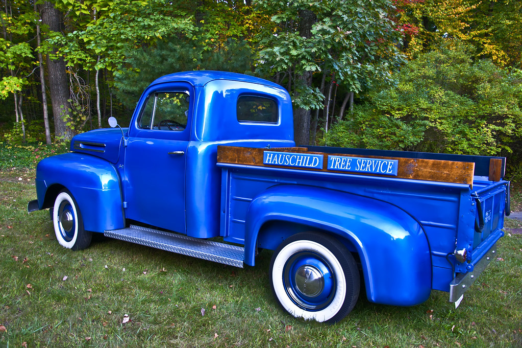 Old Blue Ford Truck
