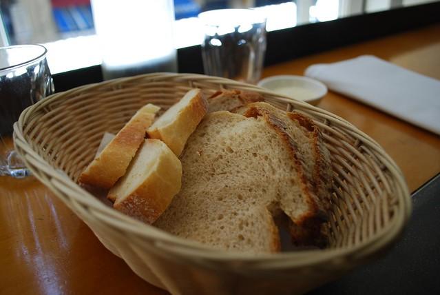 レストランのパン