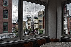 View of Market Street Wilm DE from Live at the Queen