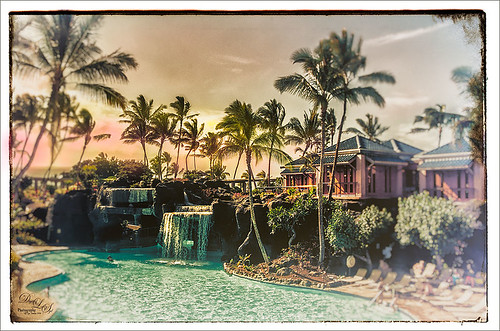 Image from the Hilton Waikoloa Village on the Big Island