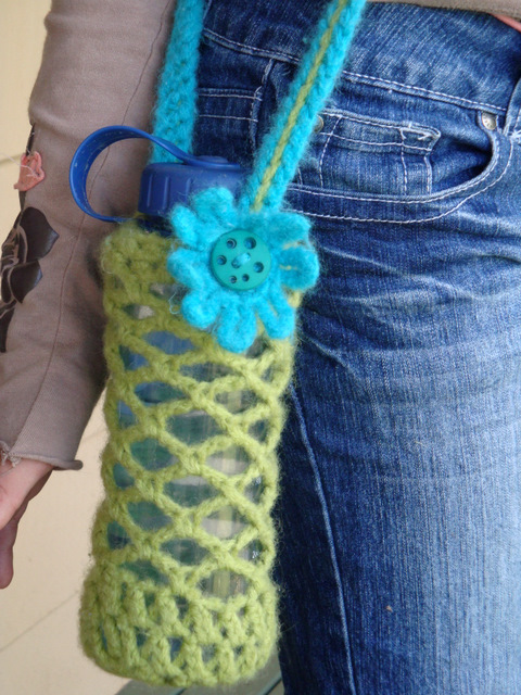 Free Crochet Pattern For Water Bottle Crochet And Knitting Patterns