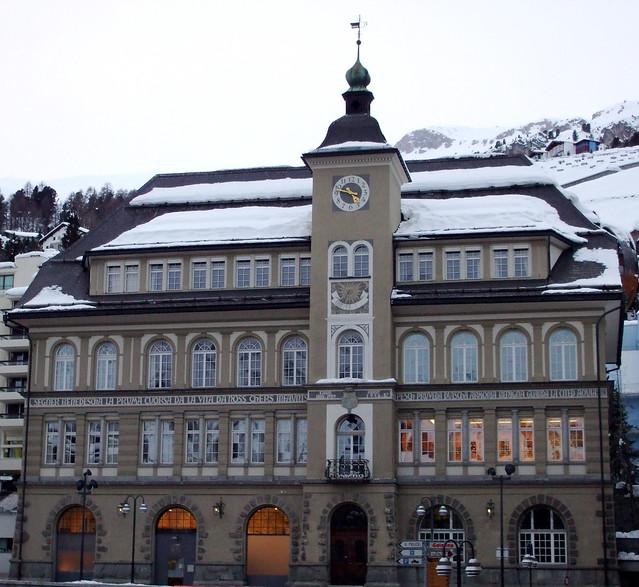 St Moritz library