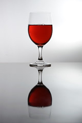 wine glass, red, drinkware, stemware, tableware, glass, red wine, drink, alcoholic beverage,