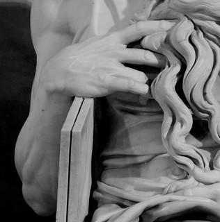 Barba de Moises de Michelangelo Buonarroti