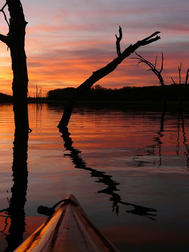 Earth Day Eve Kayaking