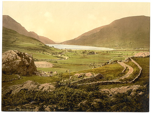 [General view, Cwellyn Lake, Wales] (LOC)