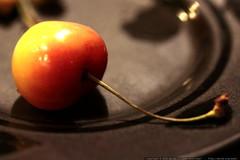 rainier cherry for dessert