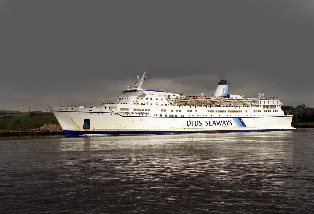 DFDS Seaways: KING OF SCANDINAVIA Port of Tyne