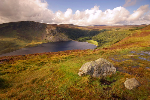 ireland landscape wicklow wicklowmountains loughtay