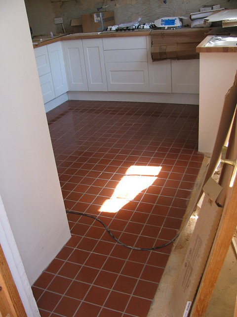 Quarry Tile Kitchen Floor
