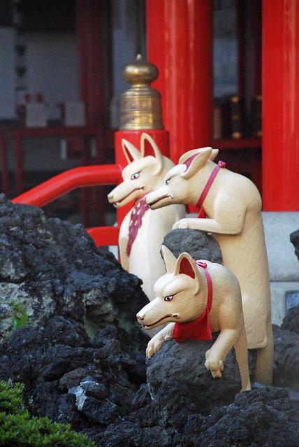 Fox Shrine Kawasaki