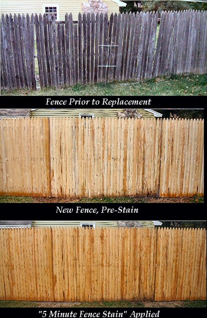 Five minute fence stain - Home Improvement | DSLReports Forums