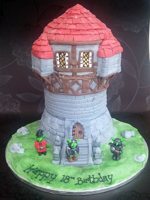 World of warcraft cake - a photo on Flickriver