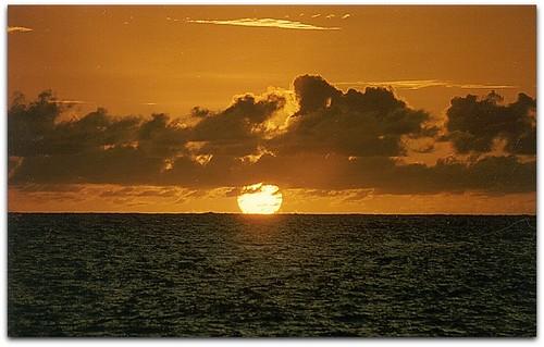 ocean travel sunset clouds rainbow paradise wolken worldwide seychelles