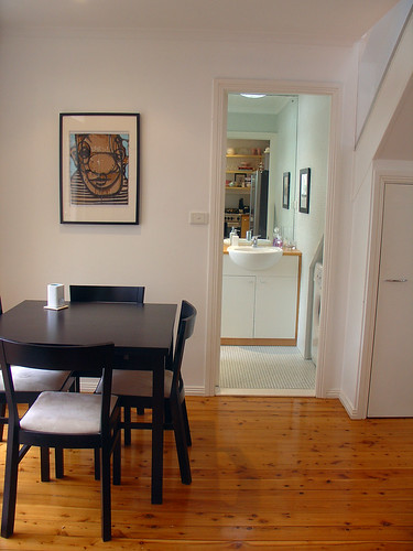 Dining from Kitchen