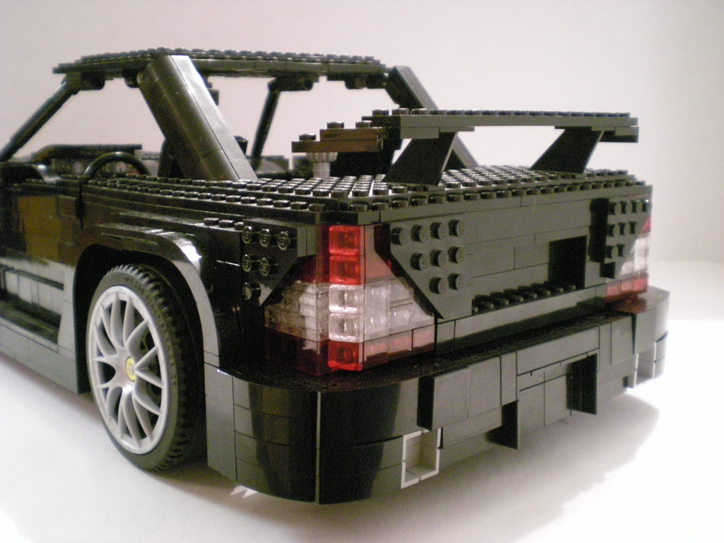 lego mercedes benz sl65 amg black series a photo on. Black Bedroom Furniture Sets. Home Design Ideas