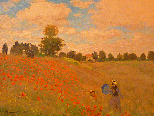 Claude Monet, Poppies blooming