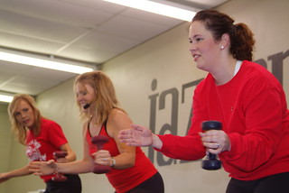 Jazzercise in Oklahoma City with Go Red For Women