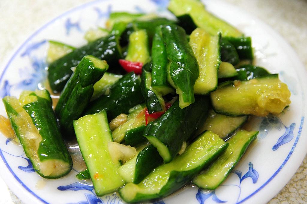 老張牛肉麵-小黃瓜 NT$30