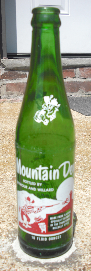 original mountain dew bottle