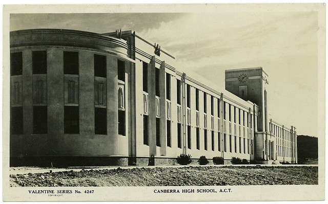 Canberra High School, Ellery Crescent and Childers Street, Acton, ACT