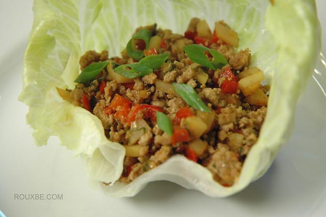 Pork Lettuce Wraps | Flickr - Photo Sharing!