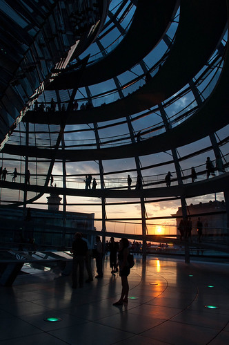 trip sunset sky people urban berlin stairs reflections germany dawn nikon walks parliament explore reichstag german dome visitor bundestag d90 explored nikond90