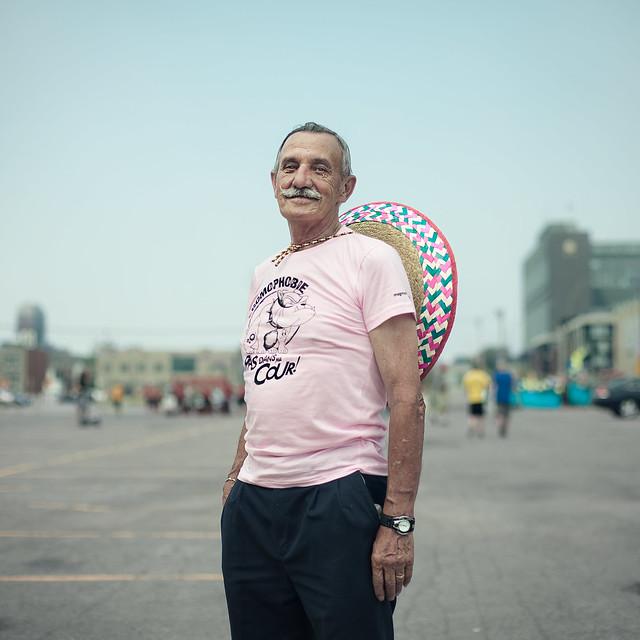 A stranger: Gay pride Montreal :