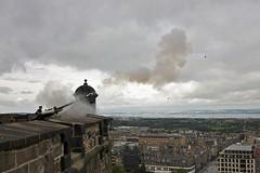 Edinburgh Castle Gun