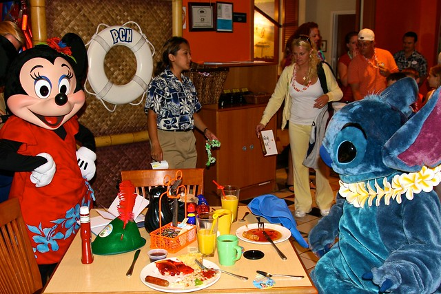 Disneyland Aug 2009 Lilo Amp Stitch Aloha Breakfast At