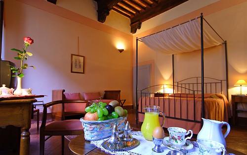 Hotel L'Antico Pozzo, San Gimignano, Tuscany, Italy, Bedroom