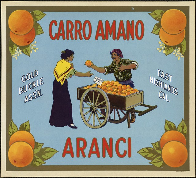 Carro Amano Aranci: Gold Buckle Ass'n., East Highlands Cal.