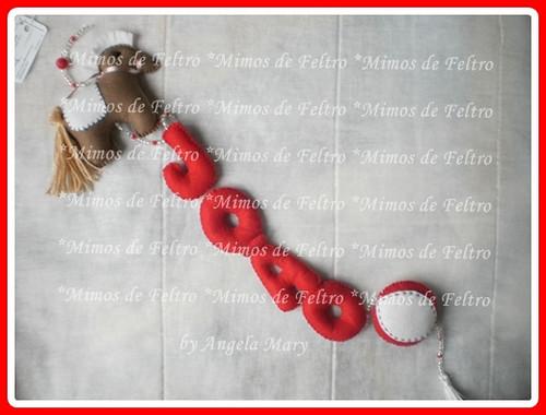 Para o lindo João.... by ♥ Mimos de Feltro by Angela Mary® ♥