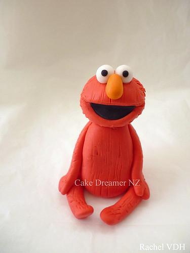 Elmo Cake Toppers Decorations : ELMO Fondant Cake Topper Flickr - Photo Sharing!
