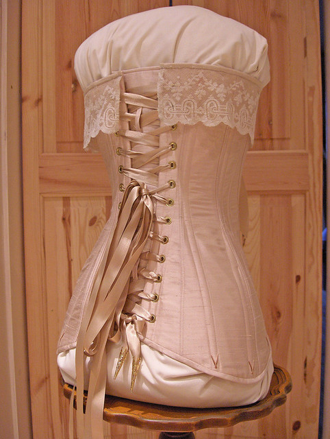 Edwardian corset (used with permission of Harman Hay ...