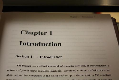 My senior thesis:
