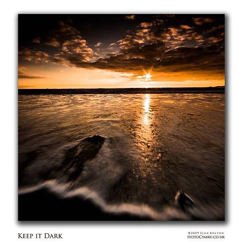 sunset sea sun beach wales coast cymru wave spray coastal foam coastline swell starburst aberavon porttalbot
