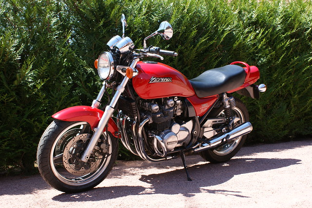 Kawasaki Zephyr  Top Speed