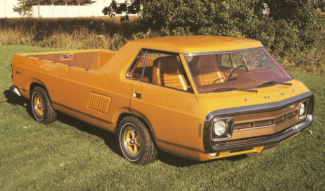 1972 Ford Explorer Cab-Forward (Concept Truck)