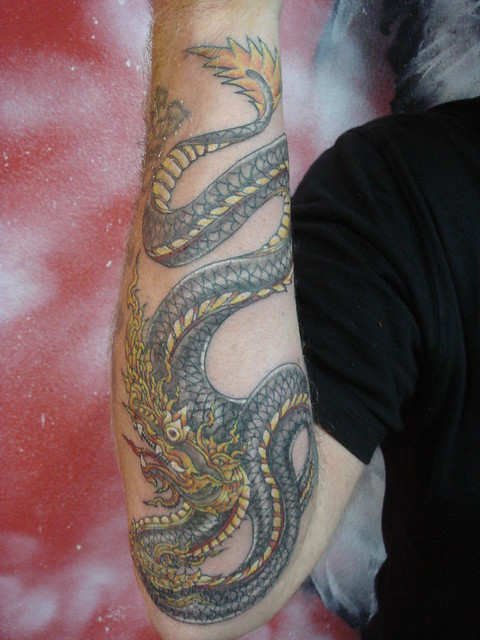naga (Dejavu Tattoo Studio Chiangmai Thailand) | Flickr - Photo