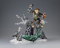 miniature, figurine,