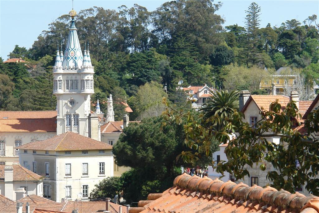 Las vistas del centro histórico son excepcionales desde muchos puntos de Sintra