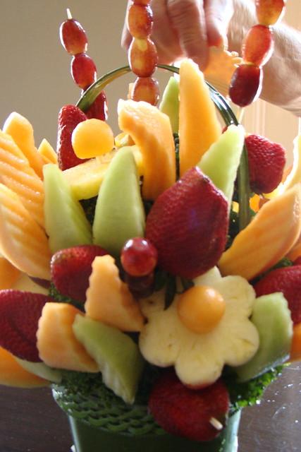 Fruit Basket Birthday Cake