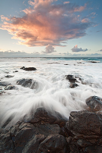 ocean cloud sunrise landscape hawaii waves kauai kpieper pieperphotographynet