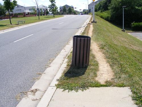 No Sidewalks, Century Boulevard