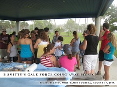 B Smitty's Gale Force Going Away Picnic!